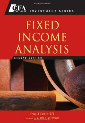 Book cover Fixed Income Analysis