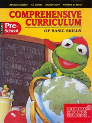 Book cover Comprehensive Curriculum of Basic Skills Pre-K