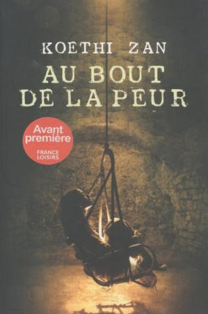 Book cover Au bout de la peur
