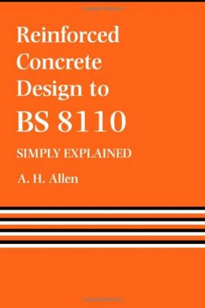 Book cover Reinforced Concrete Design To Bs8110