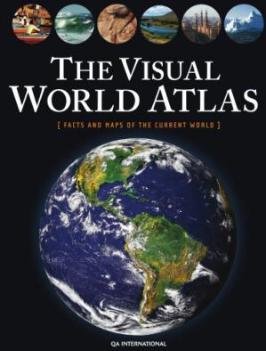 Book cover The Visual World Atlas - Facts and maps of the current world