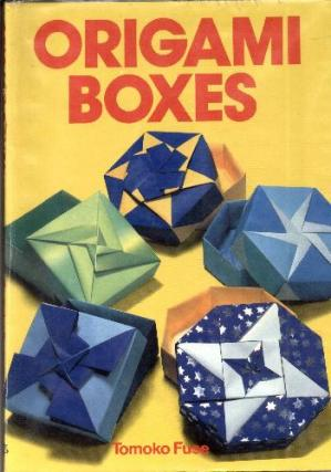 Book cover Origami Boxes