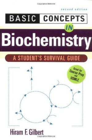 Book cover Basic Concepts in Biochemistry A Student's Survival Guide