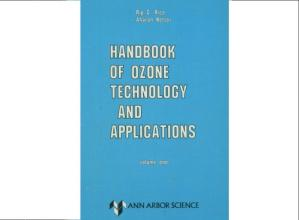 Book cover Handbook of ozone technology and applications, Volume 2