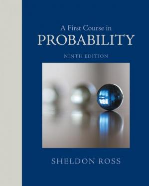 Korice knjige A First Course in Probability