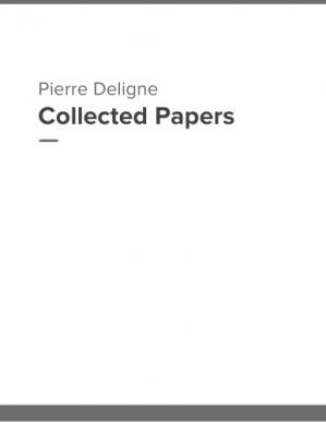 A capa do livro Collected papers