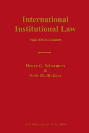 Copertina International Institutional Law