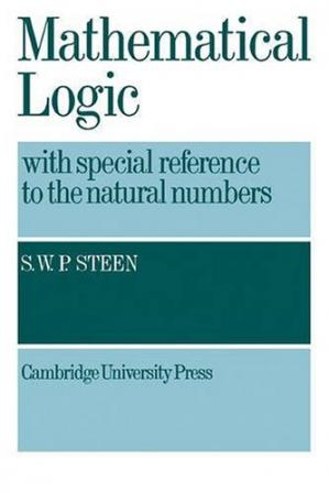 Portada del libro Mathematical logic with special reference to natural numbers