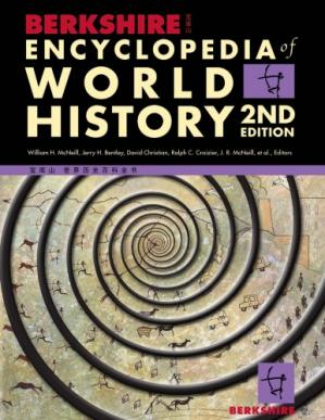La couverture du livre Berkshire Encyclopedia of World History, 2nd Ed.