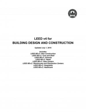 Book cover LEED v4 for Building Design and Construction