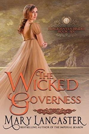 Book cover The Wicked Governess