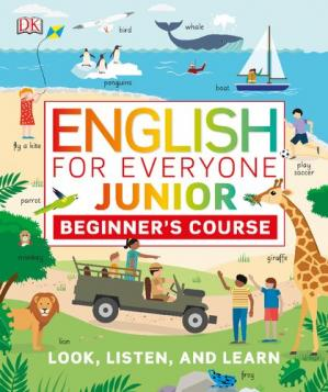 Book cover English for Everyone - Junior - Beginner's Course