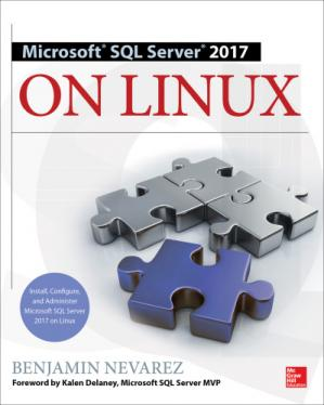 غلاف الكتاب Microsoft SQL Server 2017 on Linux