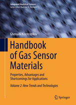 Copertina Handbook of Gas Sensor Materials: Properties, Advantages and Shortcomings for Applications Volume 2: New Trends and Technologies