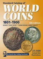 Book cover Standard Catalog of World Coins 1801-1900