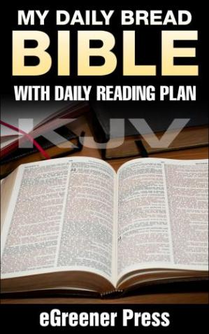 Обложка книги My Daily Bread KJV Bible: with Daily Reading Plan