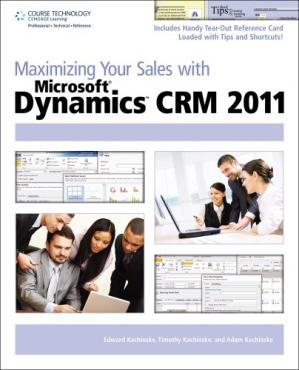 Book cover Maximizing Your Sales with Microsoft Dynamics CRM 2011