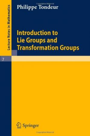 Εξώφυλλο βιβλίου Introduction to Lie groups and transformation groups