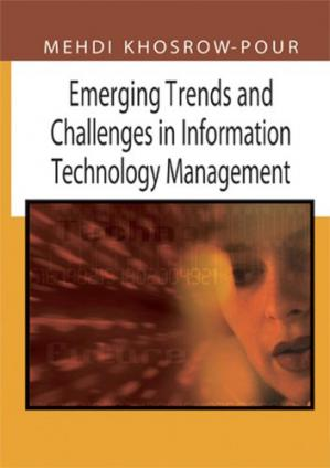 A capa do livro Emerging trends and challenges in information technology management