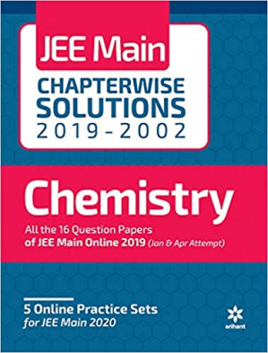 书籍封面 Arihant Chemistry JEE Main Chapterwise Solutions 2019-2002 Solved Papers