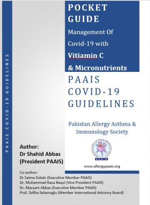 Book cover PAAIS Guidelines for COVID-19