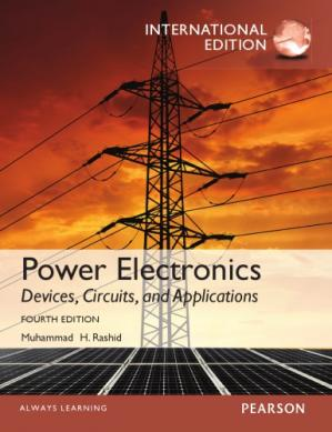 Book cover Power electronics : devices, circuits, and applications