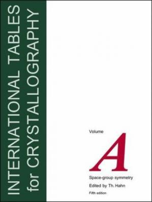 表紙 International Tables for Crystallography, Vol.A: Space Group Symmetry