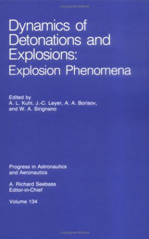 ปกหนังสือ Dynamics of Detonations and Explosions: Explosion Phenomena (Progress in Astronautics and Aeronautics)
