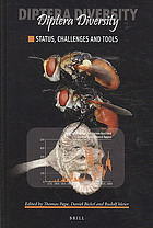 Book cover Diptera diversity : status, challenges and tools