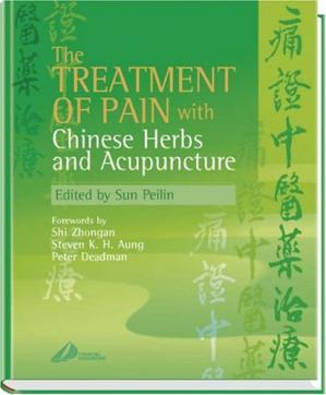 Sampul buku The Treatment of Pain with Chinese Herbs and Acupuncture