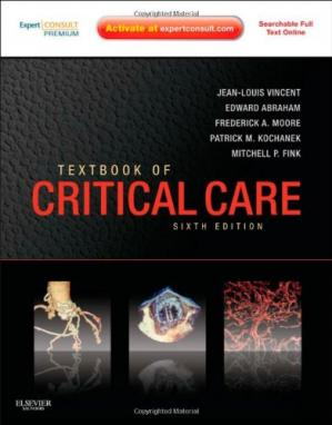 पुस्तक कवर Textbook of Critical Care, Sixth Edition: Expert Consult Premium Edition