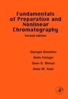 A capa do livro Fundamentals of Preparative of Preparative and Chromatography Nonlinear Chromatography