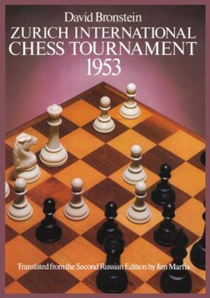 Buchdeckel Zurich International Chess Tournament 1953