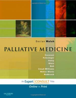 Book cover Palliative Medicine