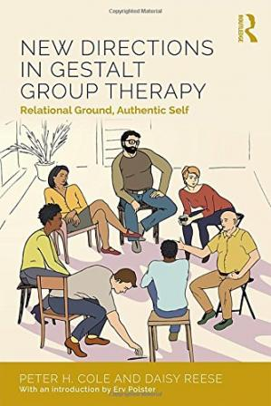 Couverture du livre New Directions in Gestalt Group Therapy: Relational Ground, Authentic Self