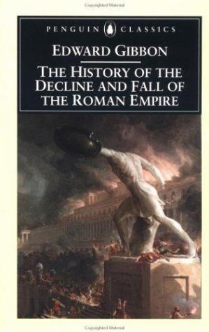 Book cover The History of the Decline and Fall of the Roman Empire, 6 Volumes
