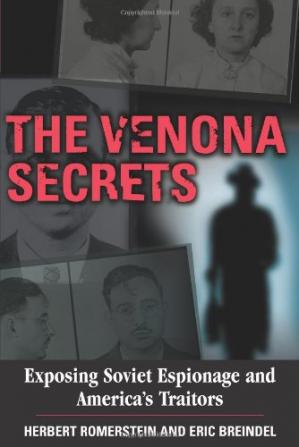 Okładka książki The Venona Secrets, Exposing Soviet Espionage and America's Traitors