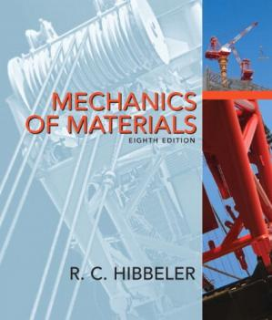 Book cover Mechanics of Materials, 8th Edition