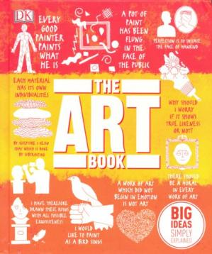 La couverture du livre The Art Book: Big Ideas Simply Explained