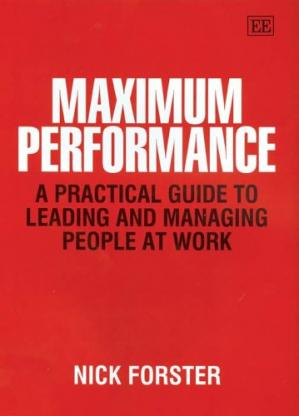 书籍封面 Maximum performance: a practical guide to leading and managing people at work
