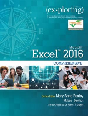 Book cover Exploring Microsoft Excel 2016 : comprehensive