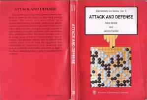 Kulit buku Attack and Defense (Elementary Go Series Vol. 5)