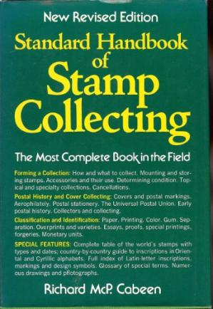 Book cover Standard Handbook of Stamp Collecting