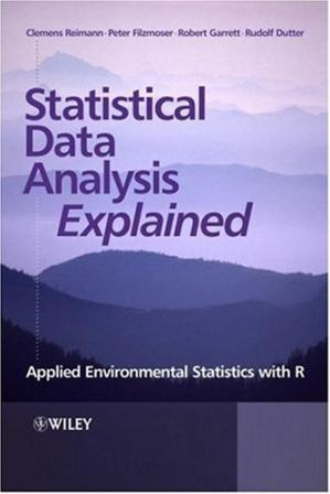 Couverture du livre Statistical data analysis explained : applied environmental statistics with R