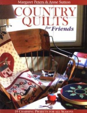 Book cover Country Quilts for friends