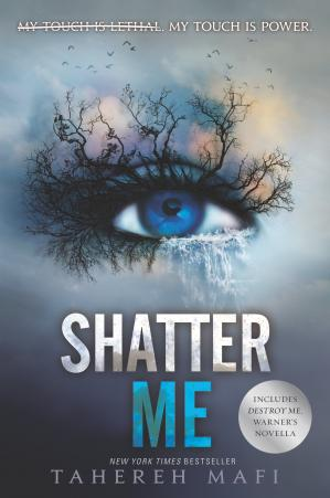 Book cover Shatter Me