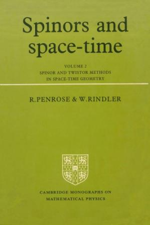 Обкладинка книги Spinors And Space-Time, Volume 2: Spinor And Twistor Methods In Space-Time Geometry