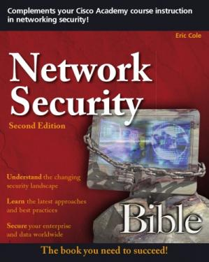 Book cover Network Security Bible (2nd Ed.)