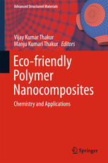 Book cover Eco-friendly Polymer Nanocomposites: Chemistry and Applications