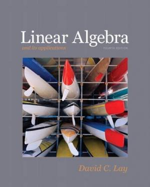 Bìa sách Linear Algebra and Its Applications, 4th Edition